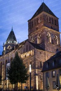 Mise en lumière de l'église St Thomas