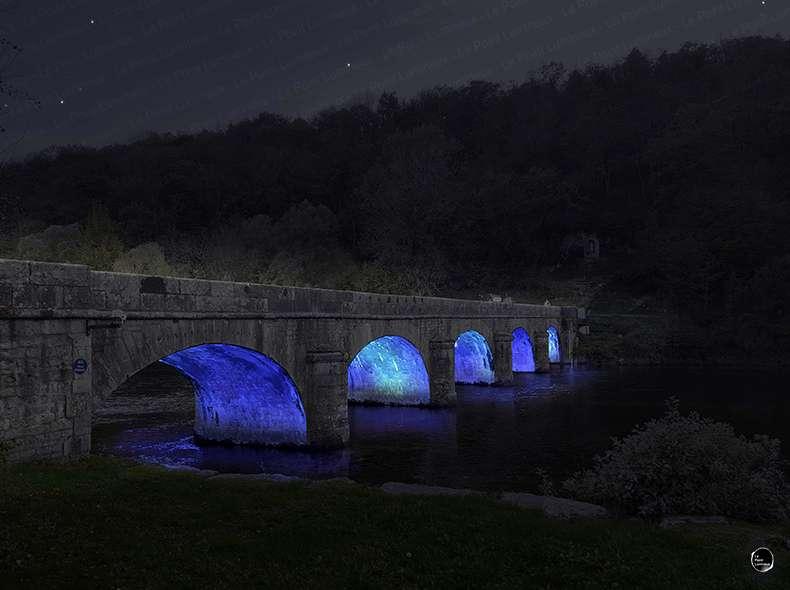 Mise en valeur du pont de Chenecey